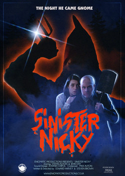 SINISTER NICKY Official Poster