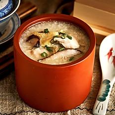 [Anyday] Chicken with shiitake mushroom Congee | 嫩滑北菇雞粥