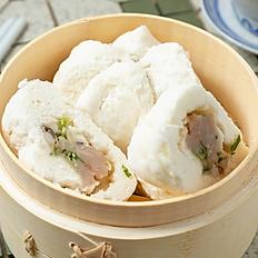 Steamed Chicken Bun 雞仔包