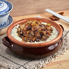 Preserved Meat with Cordyceps Flower Pot Rice 秋風起食臘味 蟲草花盅飯