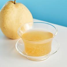 Double Boiled Sea Coconut & Tremella Soup with Sweet Pear 雪梨海底椰雪耳燉湯