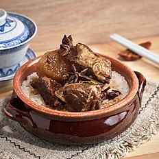 Stewed Beef Brisket with White Radish Rice | 蘿蔔牛腩飯