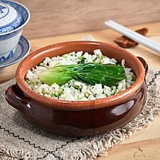 Shanghai Style Organic Veggie Rice | 上海菜飯套餐