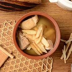 [Workday] Double Boiled Ginseng & Chicken Soup | 花旗參燉雞湯
