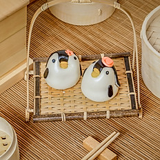 Creamy Custard Penguin Bun  奶黃企鵝包