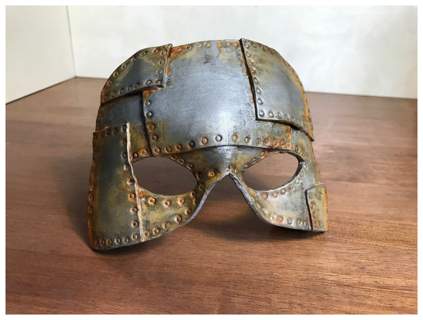 Faux Metal Mask