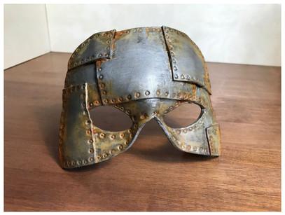 Faux Metal Mask