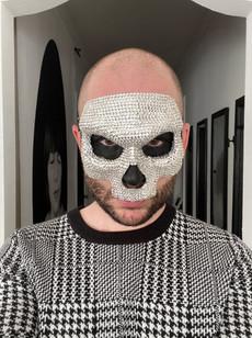 Rhinestone Mask 1