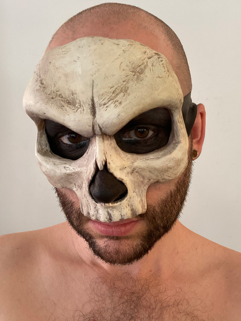 Old Bone Skull Mask