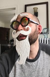 Glasses Mask