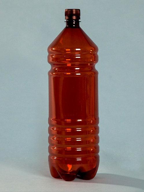 ПЭТ бутылка 2 литра коричневая