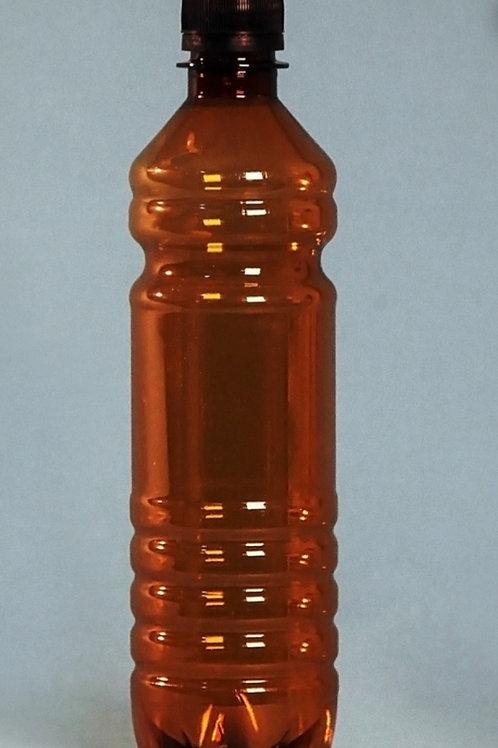 Бутылка ПЭТ 0.5 л коричневая