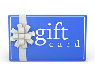Grab a Gift Card for Your Loved Ones