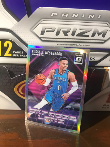a9c7a3f3d21e 2018 19 panini donruss Optic Russell Westbrook express lane silver Prizm