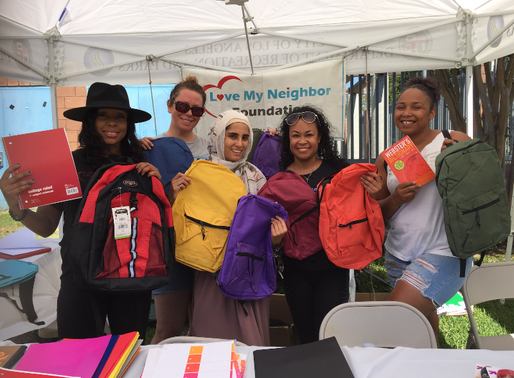 Love My Neighbor Foundation Backpack Drive