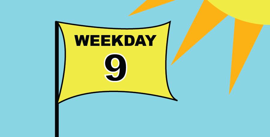 9 HOLES (WEEKDAY)