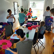 GIANT POM-POM WORKSHOP