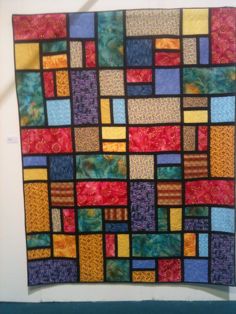 Coloured rectangles and squares