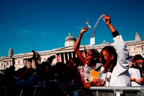 Trafalgar Square concert