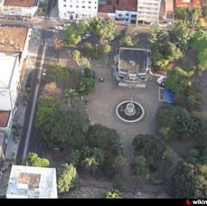 Praça da República - visão aérea.