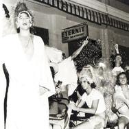 Carnaval - Corso na Rua Brasil no ano de 1973.