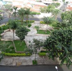 Praça Espanha no bairro Parque Iracema.