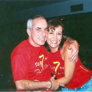 Paulo Roberto Elias Bauab (Paulinho Bauab) e Miriam Christiani Bauab na Festa TOP - 7 Anos.