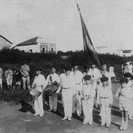 Alunos do 1º Grupo Escolar de Catanduva - 13 de Maio de 1928.