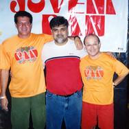 Marco Antonio do Carmo, Nilton Lourenço Cândido e Evandro Fedossi Hernandes.