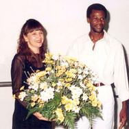 Iara do Carmo e Reinaldo Jerônimo (Jeron) - 1º Salão de Artes Plásticas de Catanduva - Casa da Cultura - 1994.