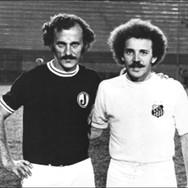 Os irmãos Roberto Brida (Brida) e Moacir Bernardes Brida (Brecha).
