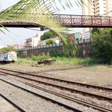 Estação Ferroviária - Rua Rio de Janeiro, 100.
