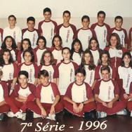 7ª Série do Colégio Nossa Senhora do Calvário - Colegião - Ano: 1996.