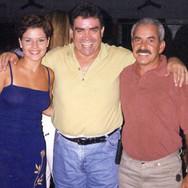 Fabiane Berto, Mouraí (Luiz Carlos Ribeiro) e Paulinho Bauab.