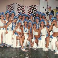 Bloco 'Havaianas' no Carnaval do Clube de Tênis em 1985.