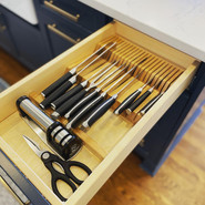 Organization with a well thought out cabinet layout