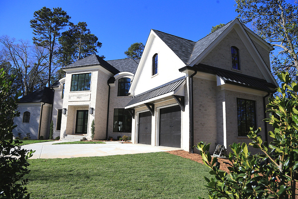Beautiful black and white exterior