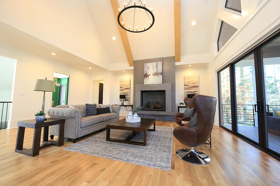 Open floor living at it's finest