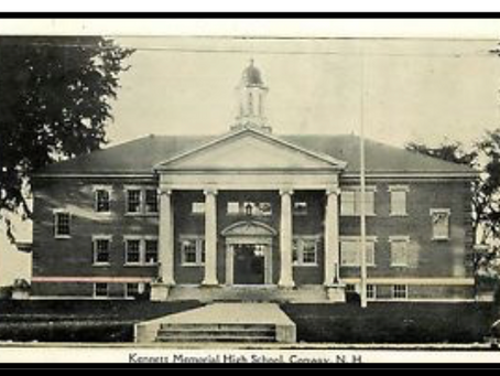 Then & Now - 95 years, Roaming the Halls of Kennett