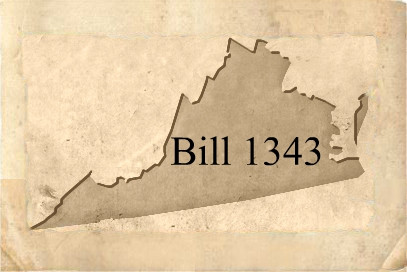 Attention Virginia Commissioned Notary Public: Bill 1343 passed!