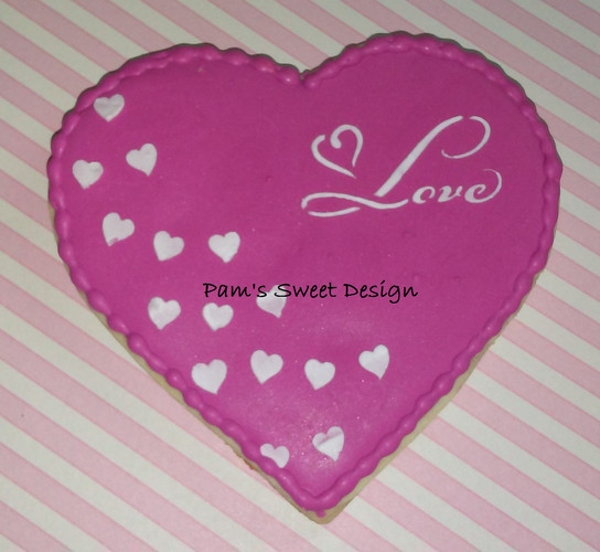 Valentine Decorated Cookie