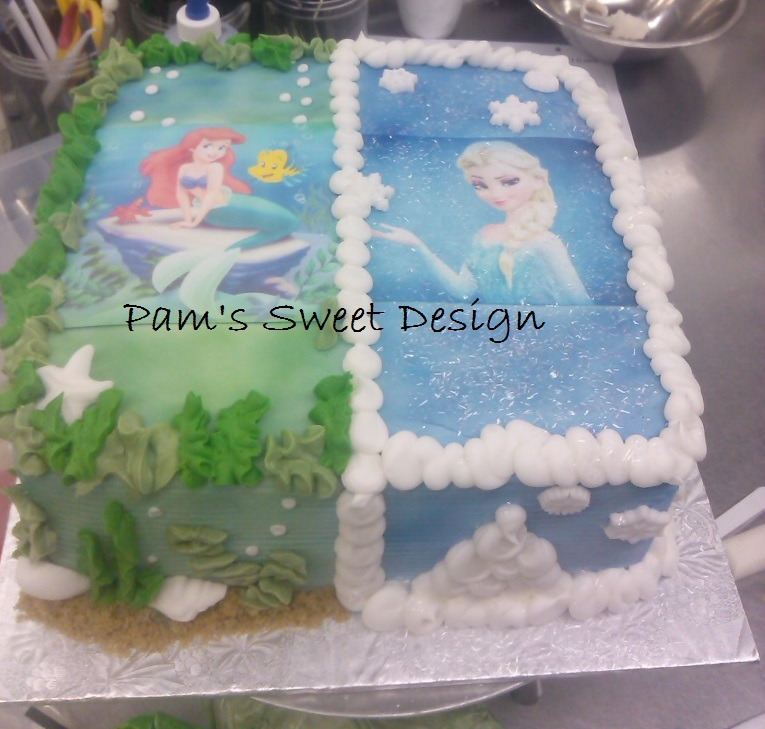 The little mermaid and frozen