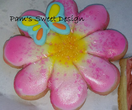 "Spring Decorated cookies 3"", 4"" & 3-D"