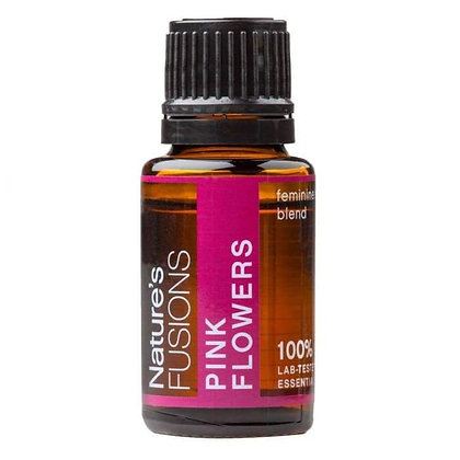 Pink Flowers Hormone Balance Blend Pure Essential Oil - 15ml