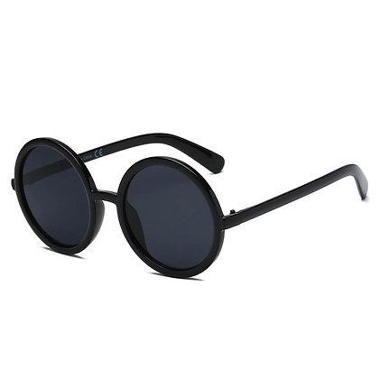 Women Round Oversize Sunglasses