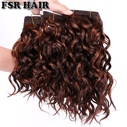 """8""""-20"""" P4/30 Color Double Weft Wavy Hair 100g/Pcs Bohemian Hair Bundles"""
