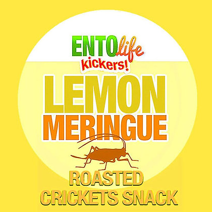 Mini-Kickers Lemon Meringue Flavored Cricket Snack