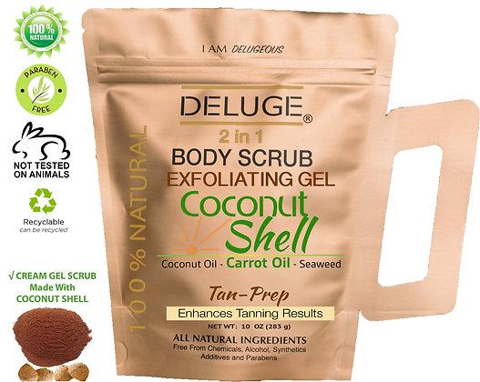 Coconut Shell Gel Scrub