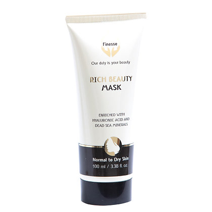 Dead Sea Rich Beauty Mask - Enriched With Hyaluronic Acid