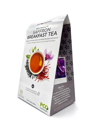 Saffron Breakfast Tea   Certified Organic